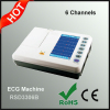 6 Channels ECG Machine