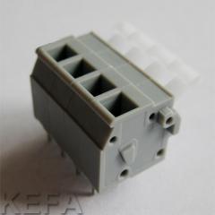 PCB spring terminal block KF242V