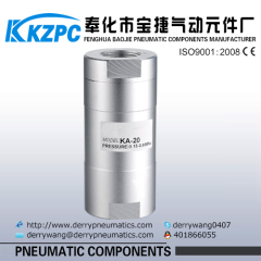 pneumatic flow control valve check valve for compressed air