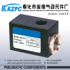 Pneumatic Quick exhaust valve QE series