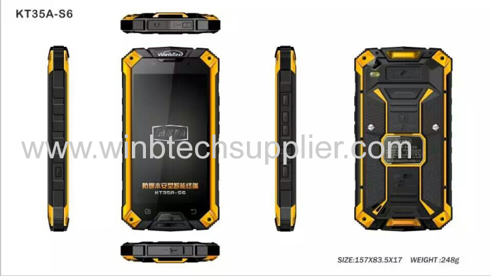 anti explosion prooof military construction phone for ATEX