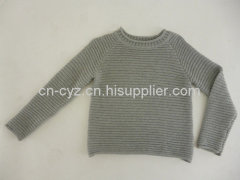 Boys' 100% Cotton Loose Type Sweaters