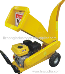 15hp 4Inch Chipping Capacity portable wood chipper