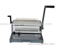 Manual Punching And Comb Binding Machine With Aluminum Metarial (SUPER21 PLUS)