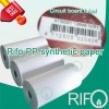 PP Synthetic Paper for Memory Bank