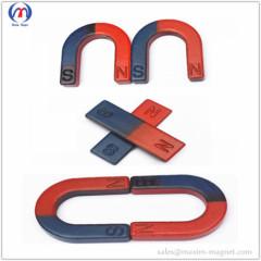 U shaped tutorial ferrite magnets