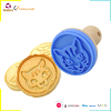 DIY cookie stamp silicone cookie cutter biscuit tools for birthday cake