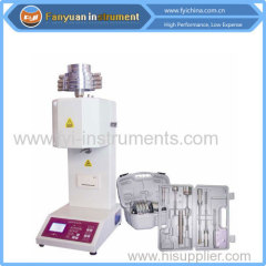 Plastic Melt Flow Index Tester for enginneering plastic
