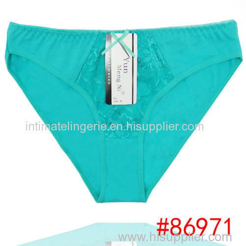 2015 New laced cotton bikini panties lady brief sexy Underpants lady boyleg women underwear girl hipster hot lingerie