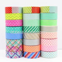 Writing printed custom Japanese washi paper tape