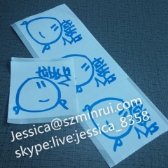 Custom Eggshell Stickers With Strong Adhesive Printing Street Graffiti Non Removable Sticker With Factory Wholesale