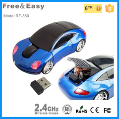 Classic Sports hot Wireless Car Mouse For PC and Laptop