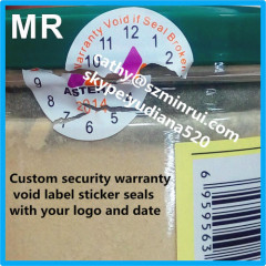 tamper evident security seals