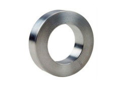 N50 neodymium ring magnet in nickel plated for sale