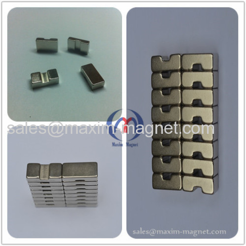 Bridge shape Neodymium Magnets