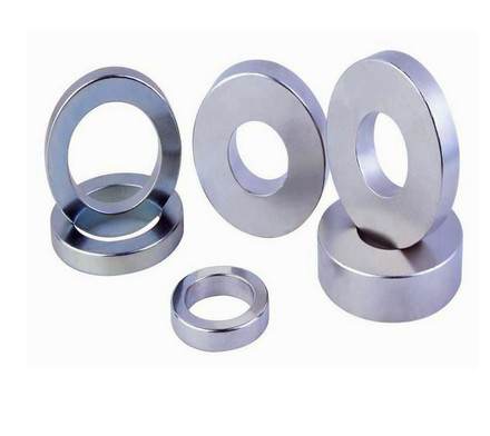 Strong neodymium single pole magnet ring for sale