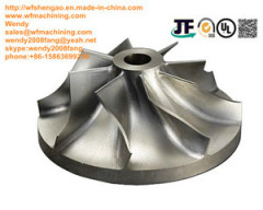 Customized Investment Casting Closed Impeller for Pump