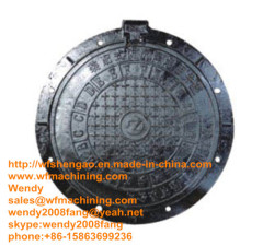 Cast Iron Manhole Covers with Frame (Foundry)