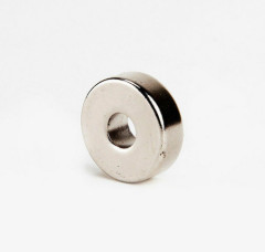 n52 ring ndfeb permanent magnet with nickel coat for sale