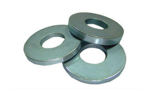 strong multipole ring magnet for sale in zinc coat