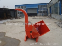 Max 4inch chipping capacity mechanial pto wood chipper