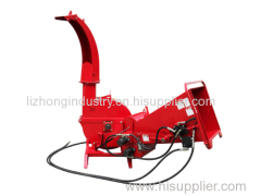6inch chipping capacity 3 point hitch tractor wood chipper shredder