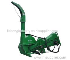 10inch Max chipping capacity hydraulic feeding mobile wood chipper