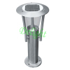 Stainless Steel Outdoor Lawn Light solar post lighting solar led yard light