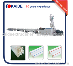 PPR water pipe making machine/ PPR pipe extruder machine KAIDE