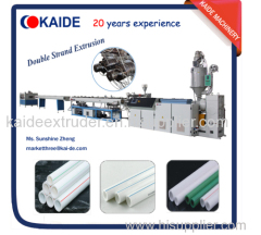 30m/min High speed PPR water pipe extrusion machine PPR pipe extruder