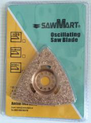 Triangular Carbide Rasp Multi Tool Blades Oscillating Saw