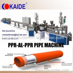 Mulitilayer Aluminum Plastic Composite Pipe Machine KAIDE PEX-AL-PEX/PERT-AL-PERT