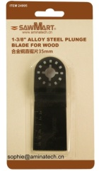 E-Cut Long Life Saw Blade for Oscillating Tool 35mm for Wood