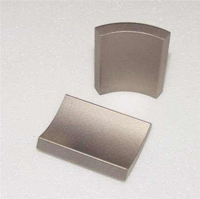 Arc neodymium ndfeb magnet n50 with nickel coated for motor used