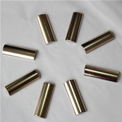 Zinc plating neodymium arc segment magnets for sale