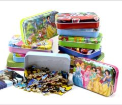 hot sell Puzzle in color printed tin box