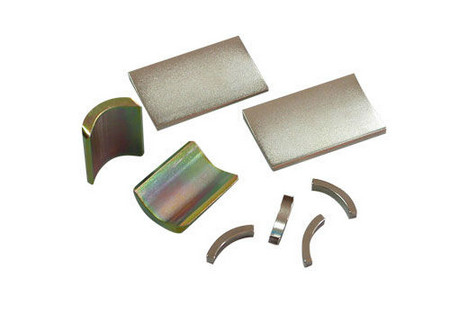 High Quality Small Arc Permanent NdFeB Magnets for Motors