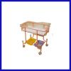 Wheeled baby hospital bed