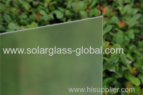 manufacturer of 3.2mm tempered Solar Glass