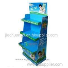 Cheap Custom Printed Paper Display Cardboard Stands