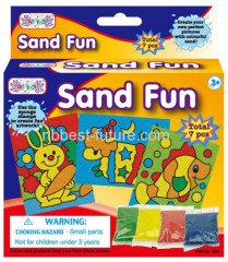 Handmade sand fun crafts