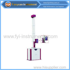 Rubber falling weight impact tester