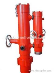 Drill Pipe Single Plug Cement Head