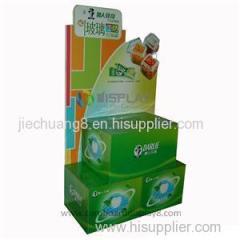 Toothpaste Cardboard Pallet Display Stands For Supermarket
