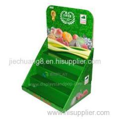 Cardboard Counter Top Displays with 4 Tiers for Jam Promotion in Supermarket