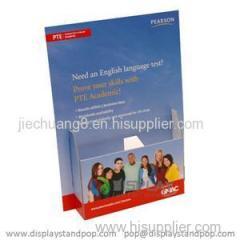Custom Brochure Countertop Cardboard Display