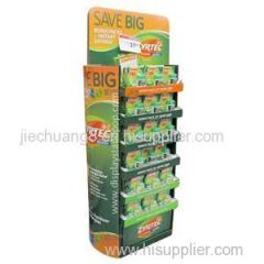 New Factory Made Good Quality Cardboard Floor Display Stands