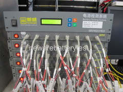 Battery testing machine / battery tester with 2/4/8 channels