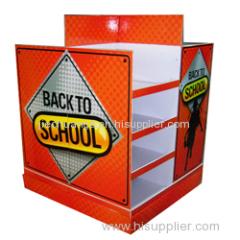 Professional Custom-made Corrugated Cardboard Advertising Pallet Displays
