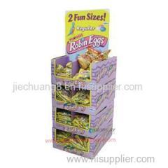 Fashion Promotional Pop Template Cardboard Pallet Display Shelf